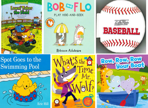 2020 Sizzling Summer Reading Challenge! Set of 6