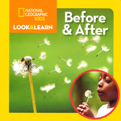 Before and After: Look & Learn (Board Book)