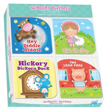 Nursery Rhymes Baby Gift Set of 4