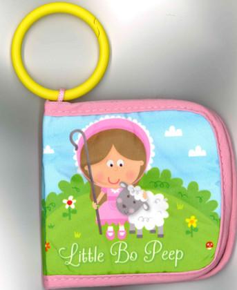 Little Bo Peep (Stroller Cloth Book) 4 x 4 x 1 inch