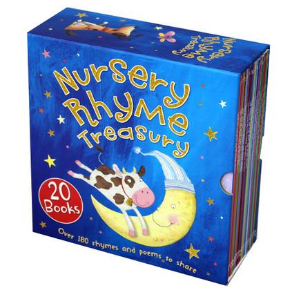 Nursery Rhyme Treasury Set of 20 (Paperback) 7 x 7
