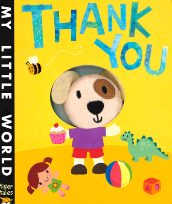 Thank You: Finger Puppet (Board Book)
