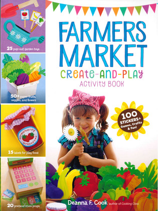 Farmers Market: Create-And-Play Activity Book (Paperback)