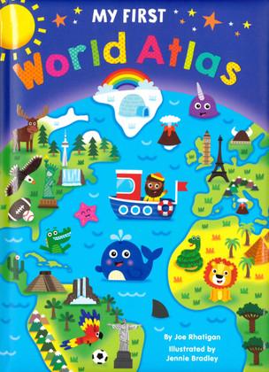 My First World Atlas (Padded Board Book)