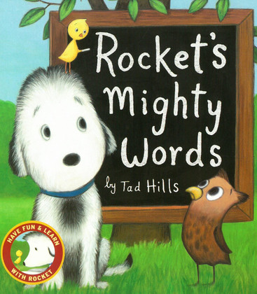 Rocket's Mighty Words: Have Fun & Learn With Rocket (Board Book)-Clearance Book