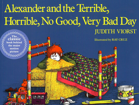 Alexander and the Terrible, Horrible, No Good, Very Bad Day (Paperback)-Clearance Book