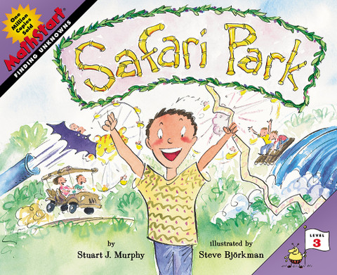 Safari Park (Solving For Unknowns): MathStart Level 3 (Paperback)-Clearance Book