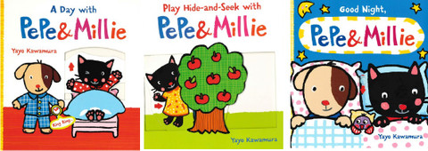 Pepe & Millie Set of 3 (Board Book)