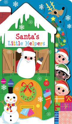 Santa's Little Helpers (Board Book)