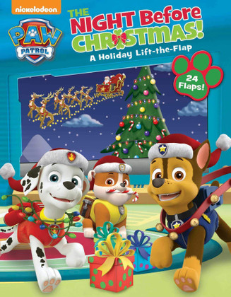 The Night Before Christmas: Lift-a-Flap (Paperback)