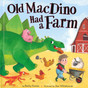 Old MacDino Had a Farm (Board Book)- Clearance Book