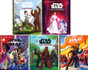 Blast Off Reading with Star Wars Set of 5 (Hardcover)