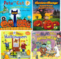 Halloween Reading for Preschoolers Set of 4