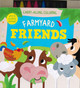 Farmyard Friends: Carry-Along Coloring (Paperback)