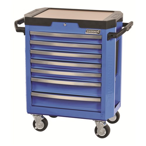 Trolley 7 Drawer Contour Blue