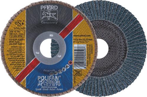Zirc. Flap Disc 60Grit Pferd