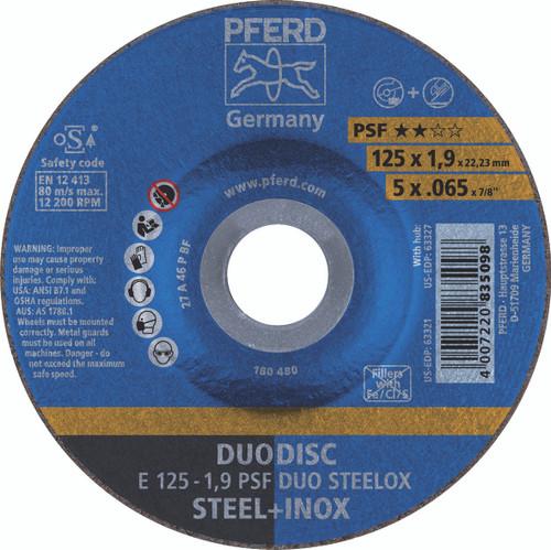 Duo Disc 125x1.9x22mm Pferd