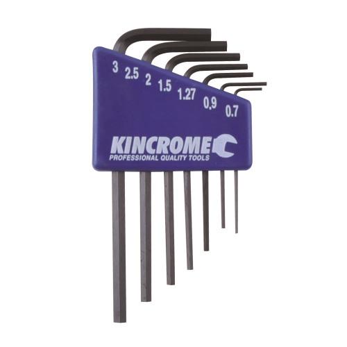 Mini Hex Key Wrench Sets 7pce Metric