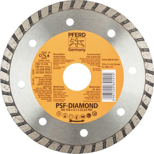 PFERD DIAMOND CUT OFF BLADE DG