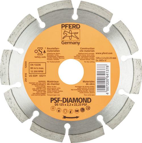 PFERD DIAMOND CUT OFF BLADE DS