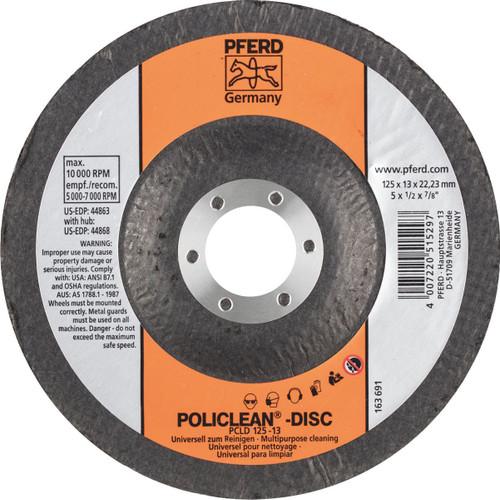 Policlean Disc 125x22mm Pferd