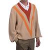 Retro V's Alpaca Golf Pullover Sweater Side