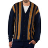 Vintage Button Down Men's Alpaca Cardigan - Front Buttoned