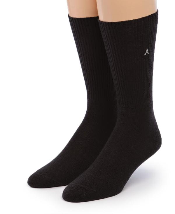 Baby Alpaca Dress Socks Front