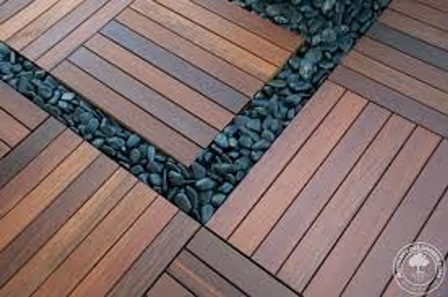 Bison Ipe 2x2~ 9 Plank Tile
