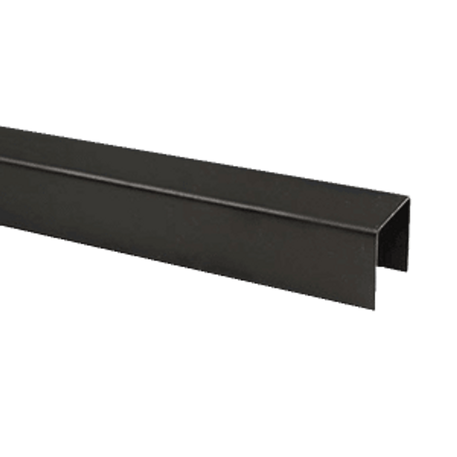 Flat Top Rail Cover for Vertical Cable Rail Panels by Fortress