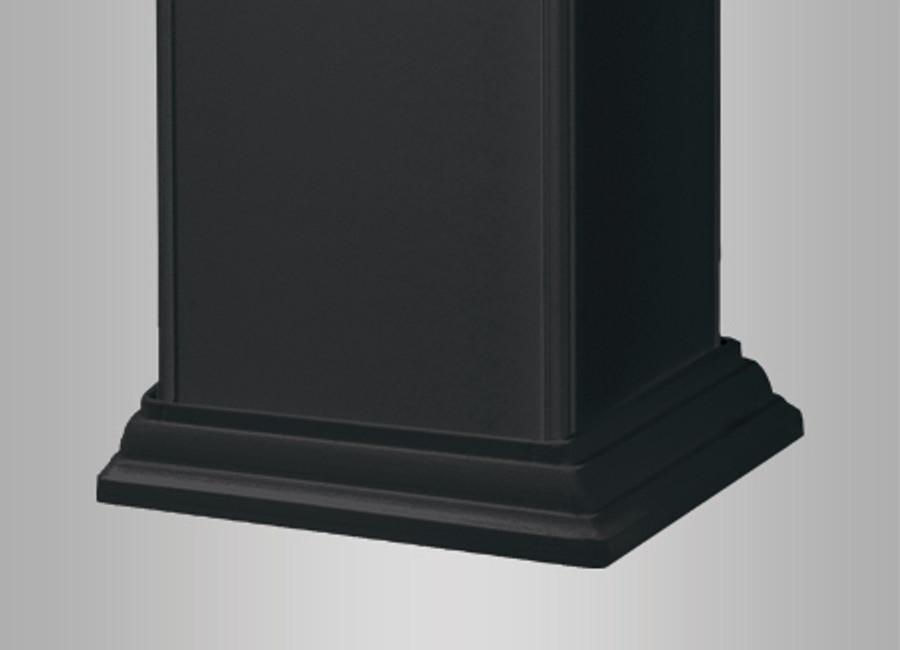 Black Post Skirt