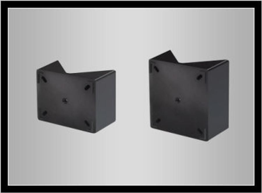 CXT CLASSIC ANGLE ADAPTORS - 45Á BLACK