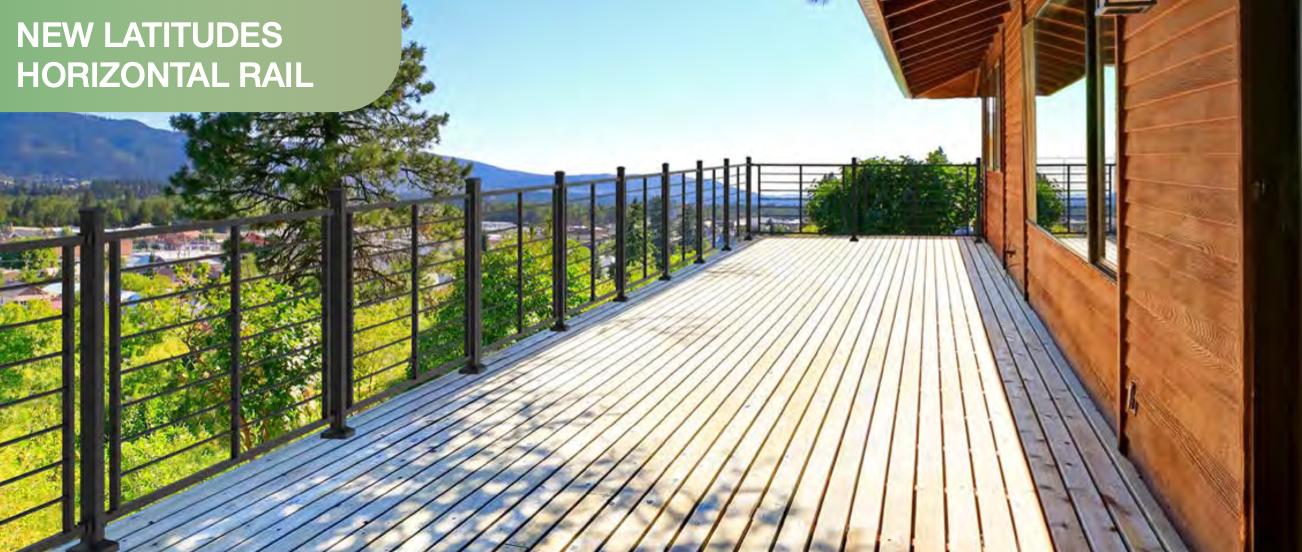 Vertical Deck Railing by RDI