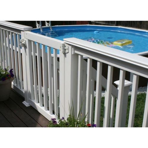 Safety? A Complete Look? We've got the Deck Gate For You!