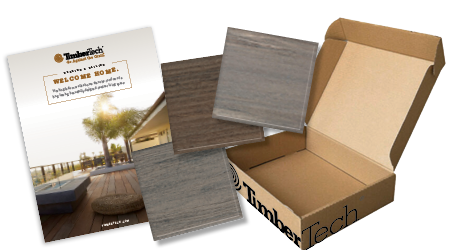 Introducing new FREE  Welcome Home Starter Kits from TimberTech