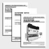 Maxform CNC Press Brake Manuals