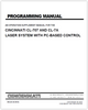 EM-423 (R-08-03) Programming Manual - An operation supplement manual for the CINCINNATI CL-707 AND CL-7A Laser System with PC-based control