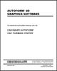 EM-428 (N-11-96) AUTOFORM 3D Graphics Software - An Operation Supplement Manual for the AUTOFORM CNC Forming Center