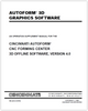EM-448 (N-09-98) AUTOFORM 3D Graphics Software - An Operation Supplement Manual for the AUTOFORM CNC Forming Center 3D Offline Software, Version 4.0