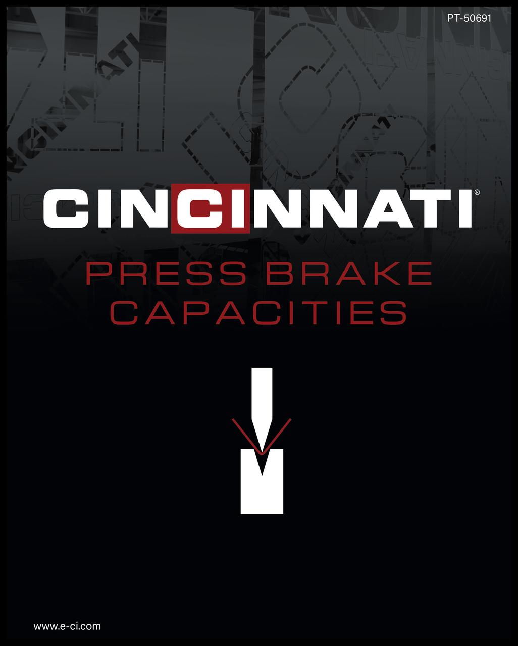 PT-50691 Press Brake Capacities