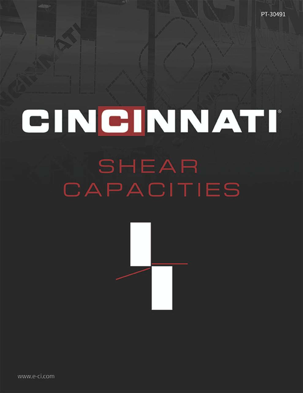 PT-30491 Shear Capacities