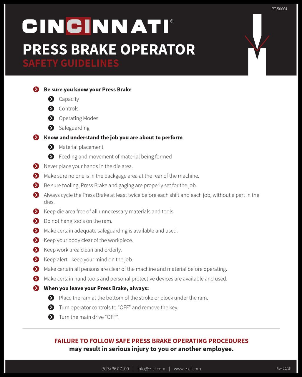 PT-50691_Press Brake Capacities_10-15