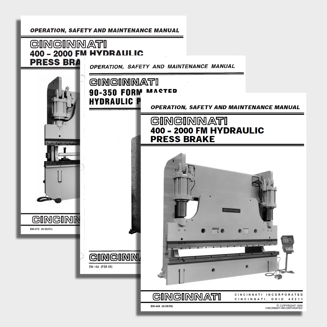 FormMaster CNC Press Brake Manual Bundle