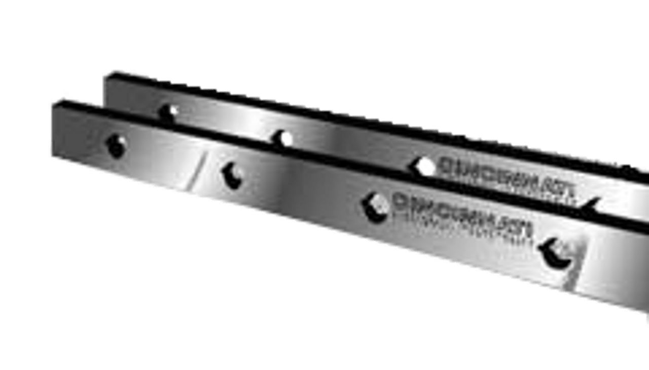 "Cincinnati Shear Knives - 150"" Length, 3"" x 1"" Cross Section (239013) Type A"