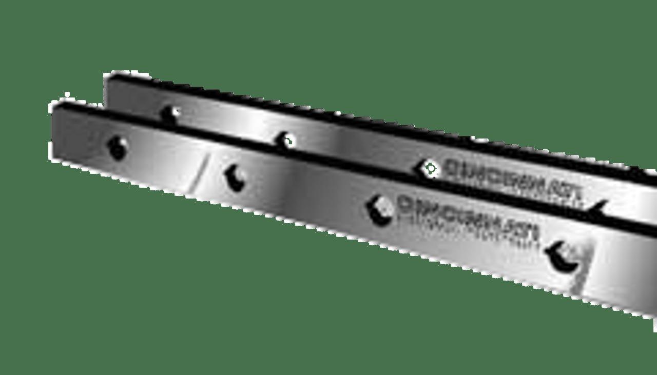 "Cincinnati Shear Knives - 126"" Length, 3"" x 1"" Cross Section (239110) Type B"