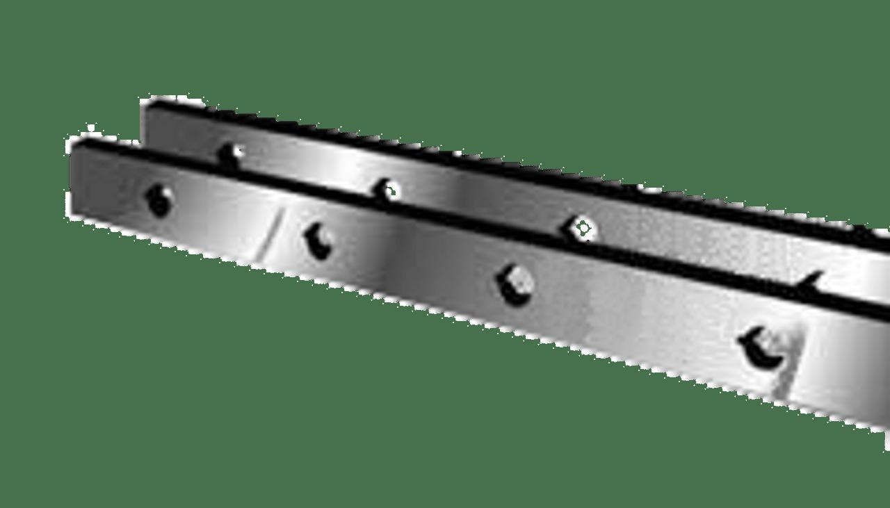 "Lodge & Shipley Shear Knives - 100"" Length, 4"" x 1"" Cross Section (239028) Type A"