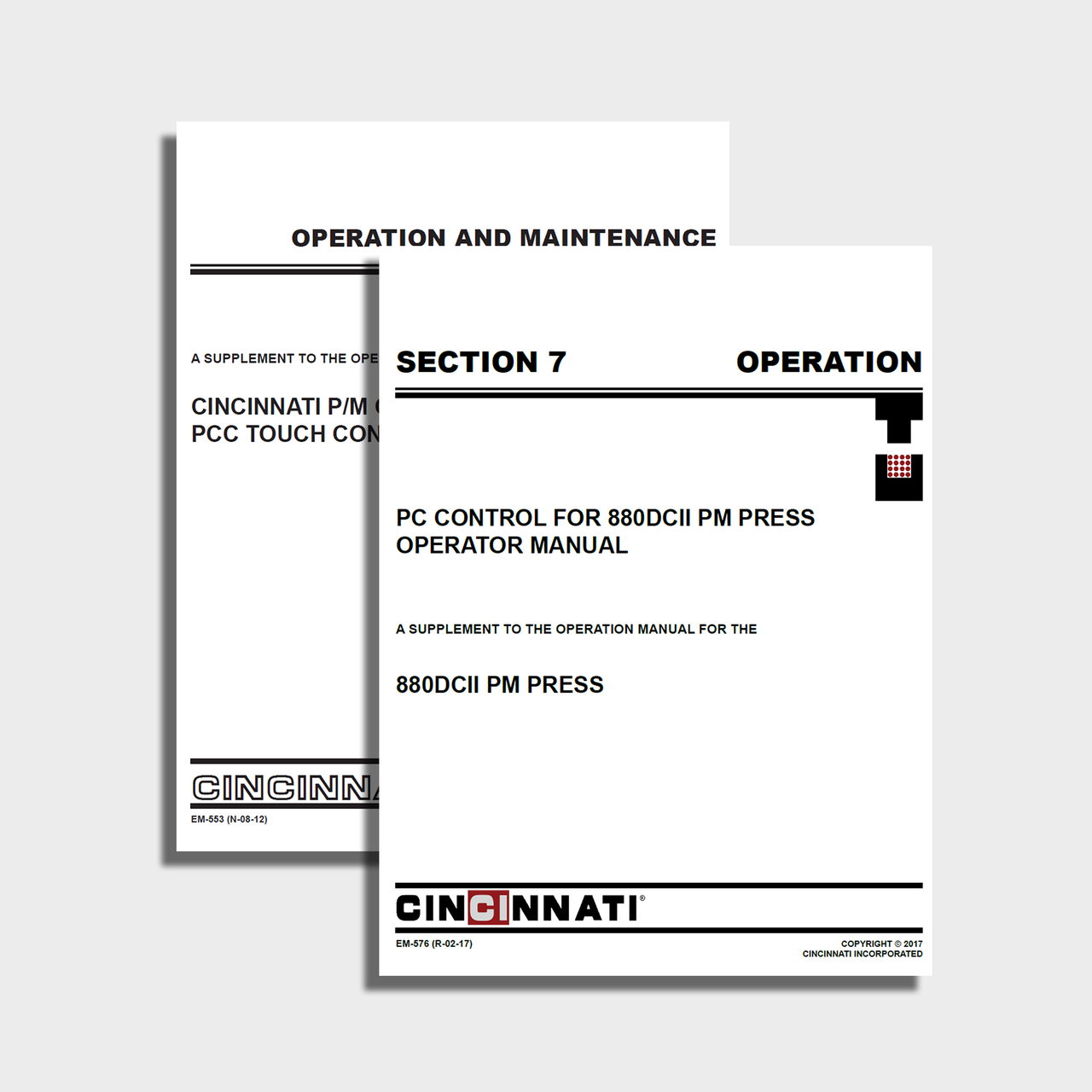 Compacting PM Press Manual Bundle