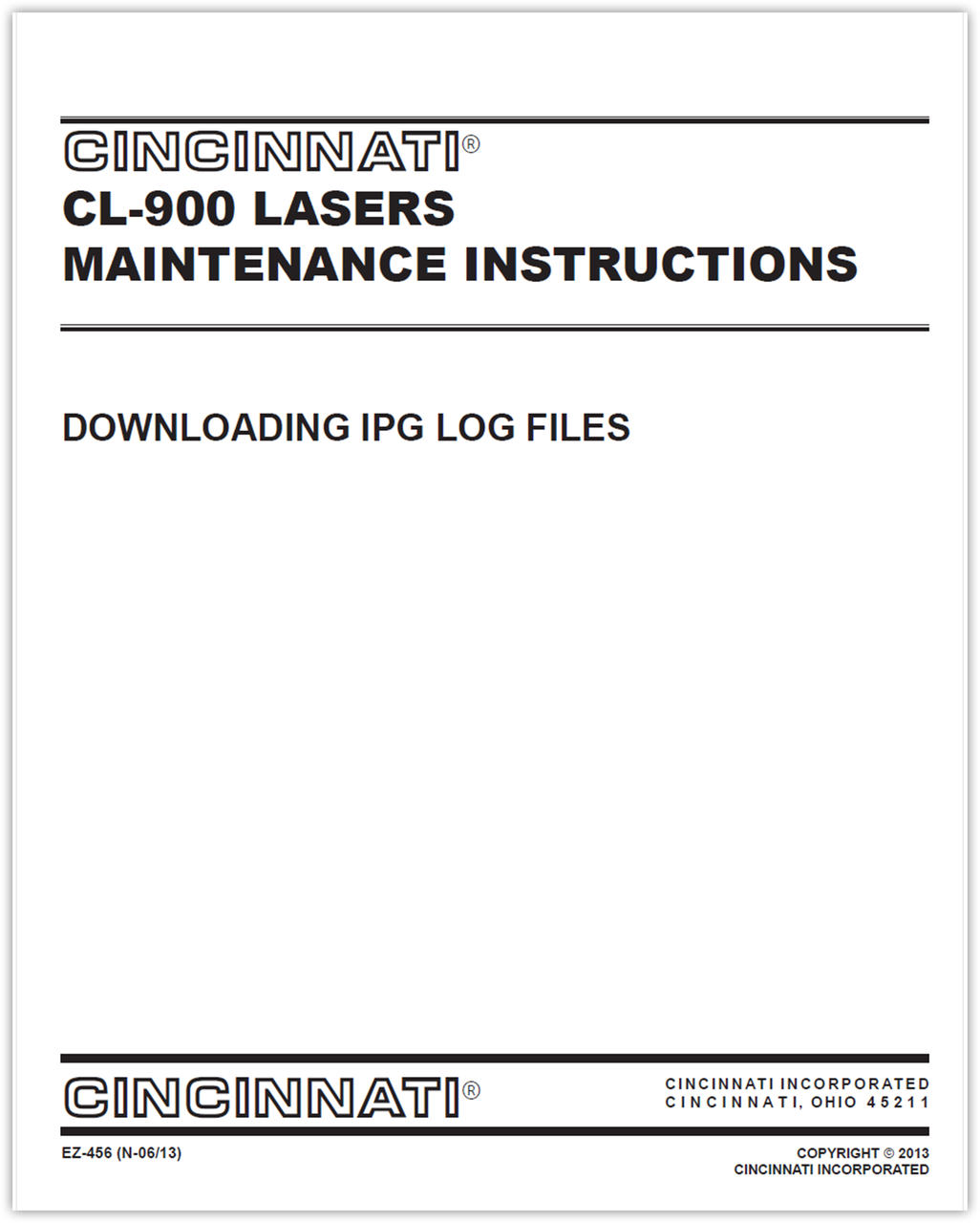 EZ-456 (N 0513) Downloading IPG Log Files via LaserNet