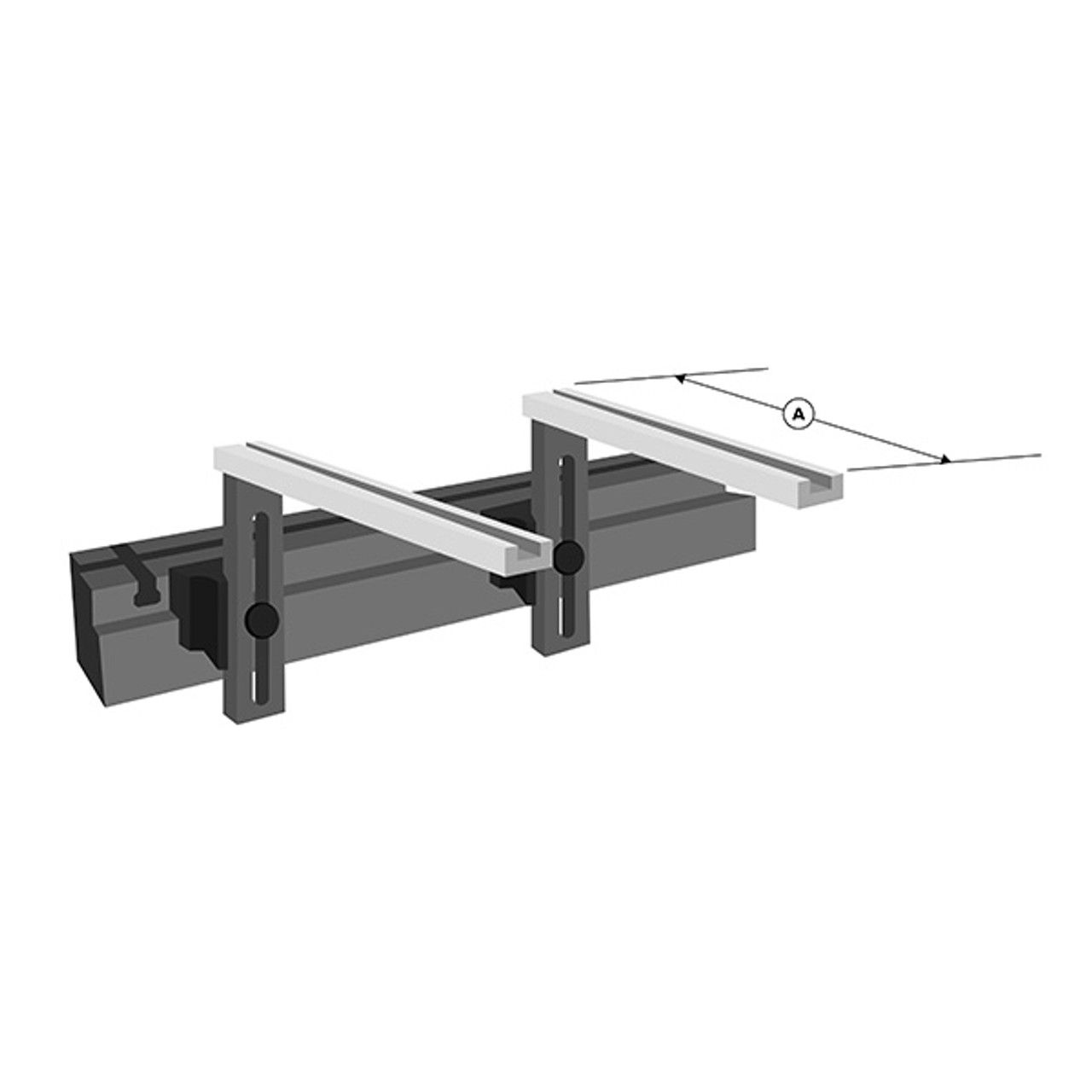 Heavy Duty Work Support Brackets (Auto Crown)