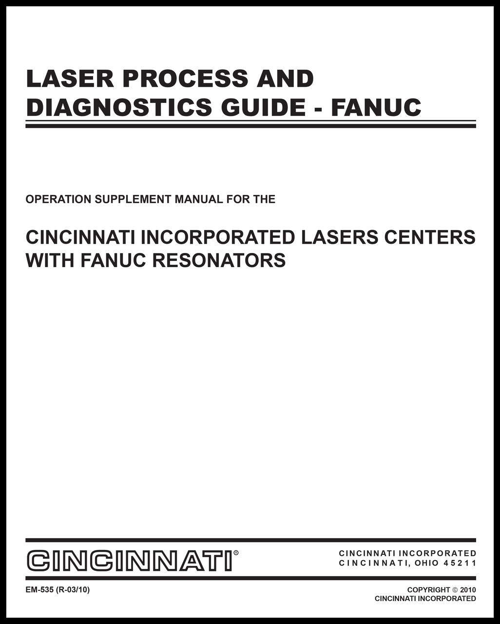 EM-535_(R-03-10) Laser Process and Diagn Guide-Fanuc